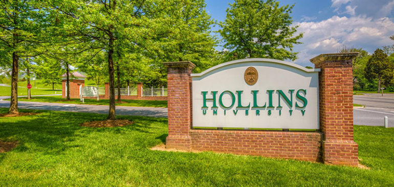 Reading at Hollins University – Sep. 1st